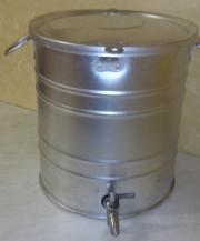 Бак с краном алюминиевый 22 литра