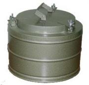 2) Термос армейский ТГ-6 круглый