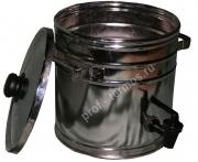 Бак для воды с краном и крышкой  с подставкой  на резиновых ножках БП-10