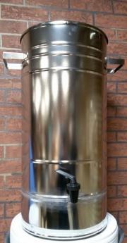 Бак для воды с краном и крышкой  с подставкой  на резиновых ножка БП-40