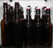 Набор бутылок пивных с керамической бугельной пробкой 0,75 мл 15 шт.