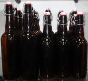 Набор бутылок пивных с керамической бугельной пробкой 0,5 мл 20 шт.